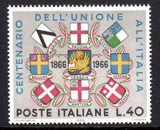 Italy - 1966 Union centenary - Mi. 1205 MNH
