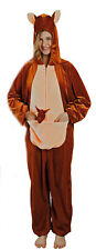 Overall Känguru Karneval Fasching Pyjama Jumpsuit Einheitsgröße