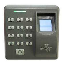 Biometric Fingerprint 125K RFID Card Reader Password Access Controller Kit