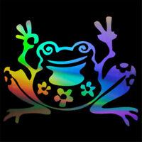 Funny Frog Animal Car Window Wall Door Sticker Bumper Laptop Truck Vinyl Decal