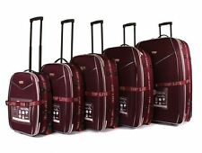Soft Synthetic 60-100L Suitcases with Extra Compartments