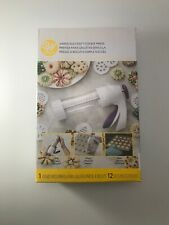Wilton Simple Success Cookie Press with 12 Discs, Brand New In Box