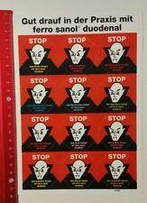 Aufkleber/Sticker A4: ferro sanol duodenal (090416161)