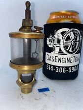 Michigan Lubricator Co. #48A32B Brass Cylinder Oiler Hit Miss Gas Engine Antique