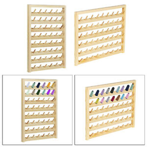 Wall Mount Thread Rack Stand Organizer Sewing Storage Quilting Knitting Accs