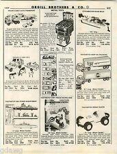 1980 ADVERTISEMENT Nylint Tootsietoy Strombecker Catering Van Store Display