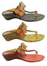 Flat (0 to 1/2 in.) Wedge Slip On Sandals & Flip Flops for Women