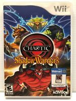 Chaotic: Shadow Warriors (Nintendo Wii) Clean & Tested Working - Free Ship