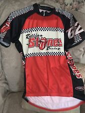 Rolling Stones Racing shirt by Primal-wear Bicycle Cycling Jersey Size Med