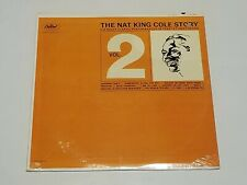 SEALED THE NAT KING COLE STORY VOLUME 2 LP CAPITOL RECORDS HIGH FIDELITY W-1927