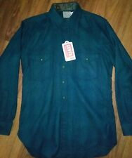 Levis LVC DELUXE wool shirt, small, LONG TAILS, Made in USA, New