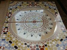 Genuine Moroccan 3D Tiles 40x25cm Ceramic (SET OF 2)