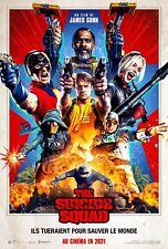 The Suicide Squad -  Affiche cinema 40X60 - 120x160 Movie Poster