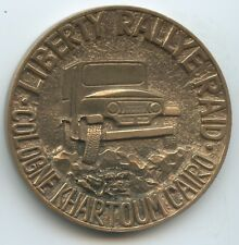 """GY278 - Medaille Automobil """"Liberty Rally Raid"""" Cologne-Khartum-Cairo"""