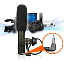 Studio Digital Video DV Stereo Recording Microphones 3.5mm for DSLR Camera Loud