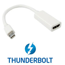 Thunderbolt Port to HDMI Female Adapter Cable with Audio Video MacBook 2011
