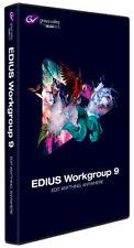 Grass Valley EDIUS Workgroup 9 versión completa