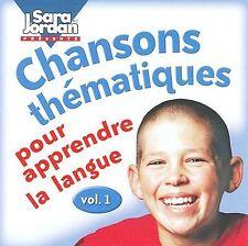Chansons Thématiques Pour Apprendre La Langue, Vol. 1 by Sara Jordan (CD, 2000,