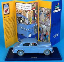 VOITURE TINTIN CAR ATLAS N° 60 Morris six  1948  Tintin Au pays de l'Or noir