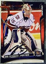 Montreal Canadiens Robert Mayer Signed 10/11 Hamilton Bulldogs Card Auto