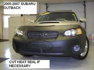 Lebra Front End Mask Cover Bra Fits Subaru Outback 2005-2007