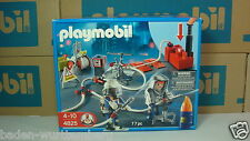 Playmobil 4825 Firefighters with water pump mint in box NEW rescue series toy