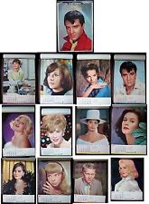 PARAMOUNT PICTURES 1965 CALENDAR, E.PRESLEY, A.HEPBURN,S. McQUEEN and more