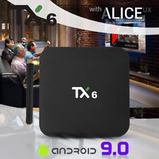 TX6 TV Box 4GB + 32GB Ultra HD Tanix Blutooth BT5.0 Wifi 2.4GHz + 5.8GHz 6K H.26