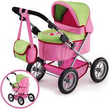 Bayer Design Mein erster Puppenwagen Trendy rosa Puppenkinderwagen Kinderwagen