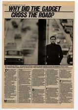 Fad Gadget Frank Tovey Interview NME Cutting 1983