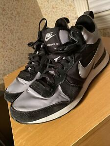 "Nike Internationalist Mid Wolf Grey & Black Mens Size 9.5 ""Shadows"""