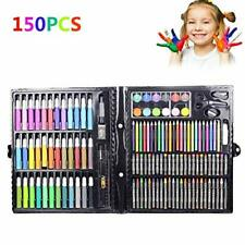 150 Pcs/Set Drawing Tool Kit with Box Painting Brush Art Marker Water Color P#65
