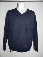 Tricots ST Raphael Sweater Navy Mens Medium Style SR8504 NWT $65