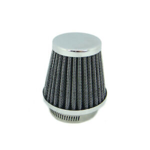 Motorcycle Pod Air Filter - Tapered Chrome 39 mm