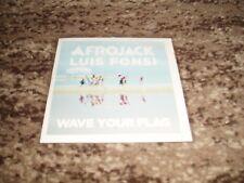 "Afrojack feat luis fonsi rare cd single promo france  ""wave your flag"""
