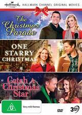 THE CHRISTMAS PARADE + ONE STARRY XMAS + CATCH A XMAS STAR RegFree DVD Hallmark