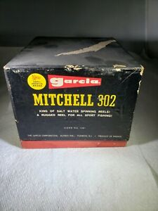 Mitchell Garcia Reel 302 BNIB with Matching Serial Numbers!