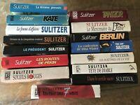Lot 15 LIVRES - PL. SULITZER - Grand format  # Thriller politico-financier Saga