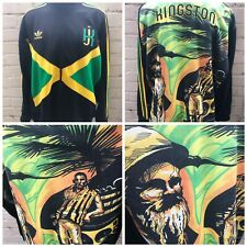 Rare Adidas Originals Jamaica Track Top Size XL Men's Jacket Rasta Kingston