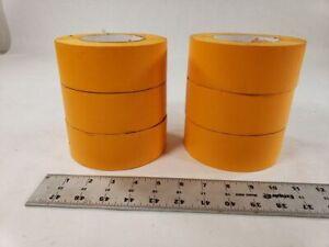 Lot Of 6 American IPG OM Orange Mask Tape Automotive High Temp Masking Tape