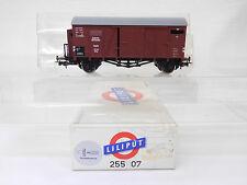 MES-54821Liliput 25507 H0 Güterwagen DRG 1238 mit Federpuffer NEM