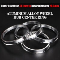 Set 4x Spigot Rings 75,1-63,4 Car Alloy Wheel Hub centric space 75.1 to 63.4 mm