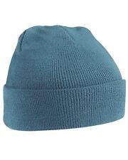Unisex AIRFORCE BLU con polsino morbido al tatto Wooly Hat-inverno, autunno, caldo, NEVE