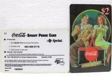 Coca-Cola - SCORE BOARD-SPRINT PHONE CARD n° 03 - sc. 02-98-scheda telefonica