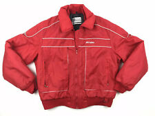 Vintage Snowmobile Ski-doo Red Bombardier Sportswear Jacket Large