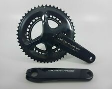 Shimano Dura Ace Bicycle Crankset 2x11 Speed FC-R9100 52x36T 175mm Black