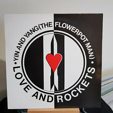 """Love And Rockets – Yin And Yang (The Flowerpot Man) - 12"""" single - BEG 166T ps"""