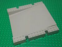 Lego Baseplate Raised Platform 16x16x2&1/3 Ramp [2642] Original Grey x1