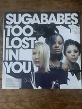 """New listing Sugababes Too Lost in You UK 12"""" Single 2003"""