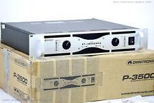 OMNITRONIC P-3500 PA Endstufe/Power Amplifier NOS/NEU!! OVP+BDA & 2J.Garantie!